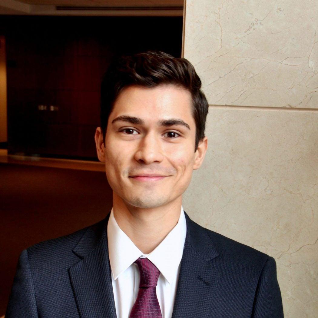 Student Raul Orozco